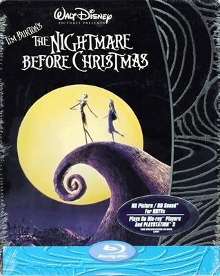The Nightmare Before Christmas SteelBook (BD + Digital Copy)(Exclusive)