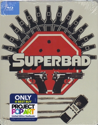Superbad: Unrated Extended Edition POP Art SteelBook (Exclusive)