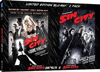 Sin City / Sin City: A Dame to Kill For 3D (BD/DVD + Digital Copy)(Exclusive)
