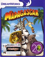 Madagascar: DreamWorks 20th Anniversary Edition (BD/DVD)