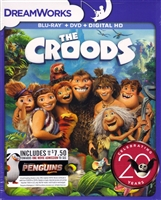 The Croods: DreamWorks 20th Anniversary Edition (BD/DVD + Digital Copy)