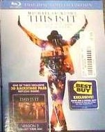Michael Jackson's This is It - Version 3 (BD + Digital Copy)(Exclusive)