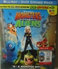 Monsters Vs. Aliens w/ 3D Glasses (BD/DVD)(Exclusive)