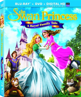 The Swan Princess: A Royal Family Tale (Slip)