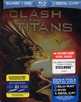 Clash of the Titans SteelBook (2010)(BD/DVD + Digital Copy)(Canada)