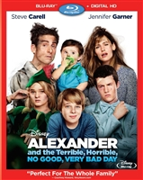 Alexander and the Terrible, Horrible, No Good, Very Bad Day (BD + Digital Copy)