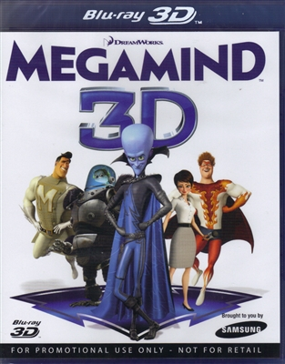 Megamind 3D (Samsung Exclusive)