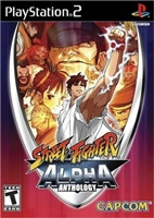 Street Fighter: Alpha Anthology (PS2)