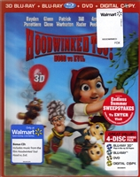 Hoodwinked Too! Hood vs. Evil 3D (BD/DVD + Digital Copy & CD)(Exclusive)