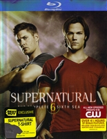 Supernatural: The Complete Season 6 w/ T-Shirt (Exclusive)