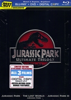 Jurassic Park Trilogy SteelBook (BD/DVD + Digital Copy)(G1)(Exclusive)