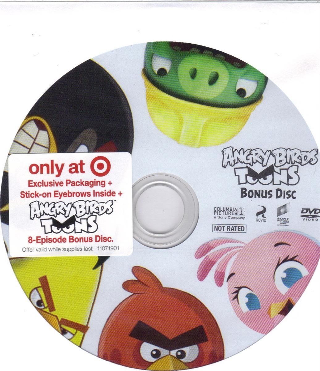 The Angry Birds Movie Bonus Disc Exclusive