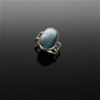 Sterling Silver and Bisbee Turquoise Ring