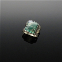 Sterling Silver and Chrysocolla Ring