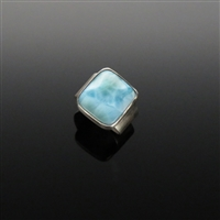 Sterling Silver and Larimar Ring