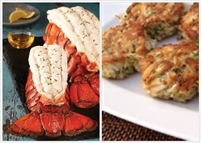 LobsterTail & CrabCake Combo.