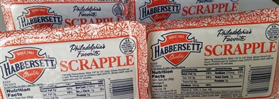 Habbersett Scrapple Four Pack