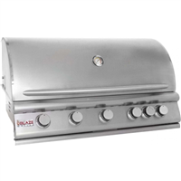 Blaze 40 Inch 5-Burner Gas Grill With Rear Burner