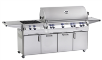 Echelon 48'' Portable Grill, Infrared Burner on left side, NO Window