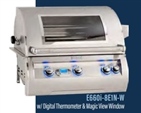 "Echelon 30"" Built-In Grill, Digital Thermometer, Magic View Window"