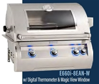 "Echelon 30"" Built-In Grill, Analog Thermometer, Infrared Burner on Left Side, Magic view Window"