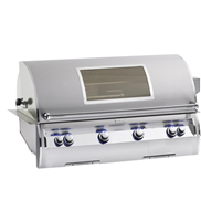 "Echelon 36"" Built-In Grill, Analog Thermometer, Magic View Window"