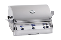 "Echelon 36"" Built-In Grill, Analog Thermometer, Infrared Burner on Left Side, NO Window"