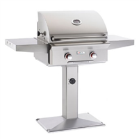 "American Outdoor Grill 24"" Patio Post and base ""L"" Series Gas Grill (Optional Rotisserie)"