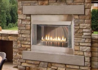 Outdoor Stainless Premium Firebox, 42-inch