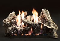 Driftwood Burncrete Log Set