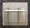 Weather Door, 48-inch Linear, Stainless Steel (Order 2 for See-Thru Fireplace)