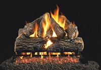 Charred Oak Vented Gas Log Set