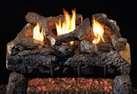 Evening Fyre Charred See Thru Log Set (G18-2)