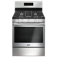Maytag® 30-inch Wide Gas Range With 5th Oval Burner - 5.0 Cu. Ft.