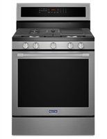 Maytag® 30-Inch Wide Gas Range With True Convection And Power Preheat - 5.8 Cu. Ft.