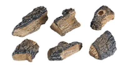Peterson Charred Wood Chips Set of 6