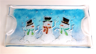 GM167 Snowman Tray Tutorial