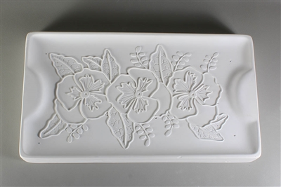 "GM176 Rectangle Pansy ""One and Done"" Tray"