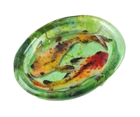 Oval Koi Fish Bowl