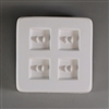 LF144 Small Square Button Mold (4)