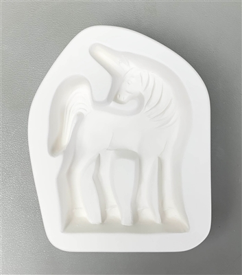 LF189 Unicorn Frit Cast Mold for Stand-Up