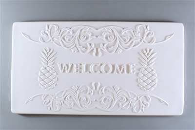 DT15 Pineapple Welcome Tile