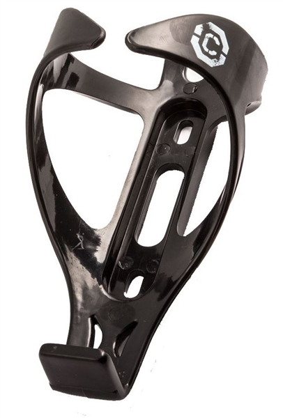 Clarks Cycle Systems: Polycarbonate Bottle Cage-BLACK