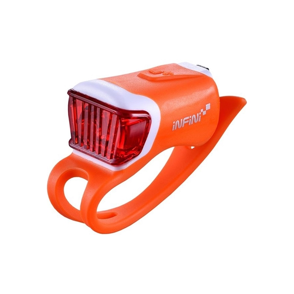 Orca USB rear light, orange