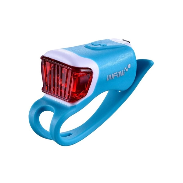 Orca USB rear light, blue