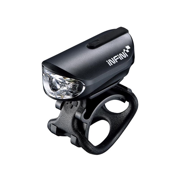 Olley super bright micro USB front light with QR bracket black