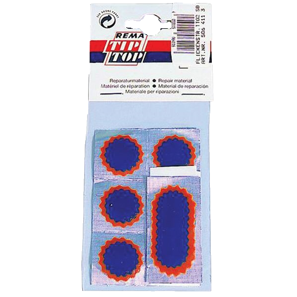 Rema Tip Top Puncture repair patches - F1 x 6 / F2 x 1 - pack of 10