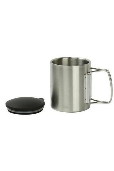 Stainless Steel 220ml Travel Mug
