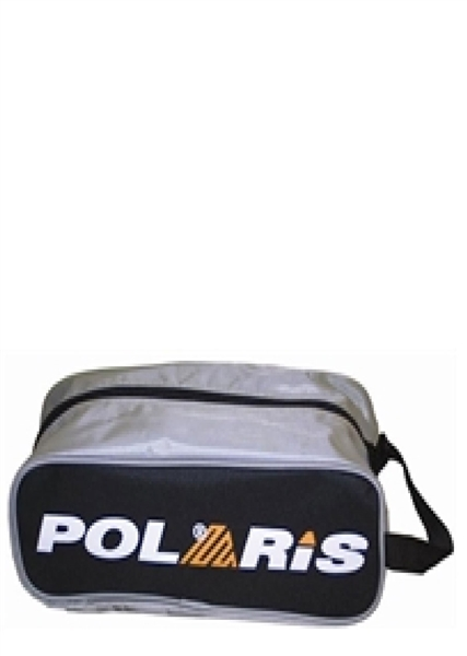 Polaris SHOE BAG, Silver-Black, One Size