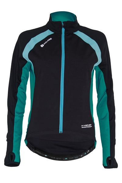 Mica Womens Windproof Long Sleeved Jersey